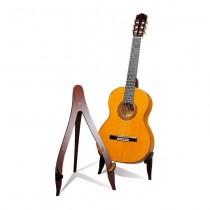 Hidrau EG23 stativ i mahogni for klassisk gitar