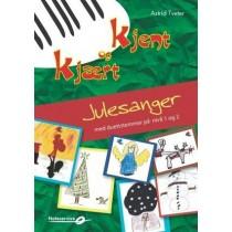 Kjent og kjært Julesanger - med duettstemmer på nivå 1 og 2 Astrid Tveter