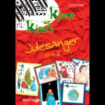 Kjent og kjært Julesanger - Nivå 2 - Astrid Tveter pianohefte