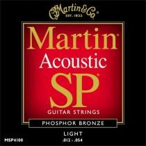Martin MSP-4100 L - Strengesett, 012-054 phosphor bronze