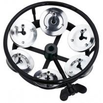 Meinl THH-1-BK Hi-Hat Tamburin, Black (M)