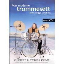 Mer moderne trommesett - Opplæringsbok m/CD *