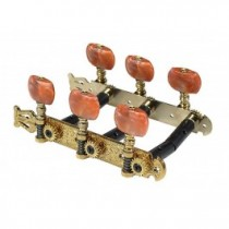 Salvador Cortez MH102G-P1R genuine replacement part set of machine heads 3L3R, gold with salmon pegs, for model 50