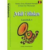 Midt i Blinken bok 1 Valthorn G-nøkkel m/CD