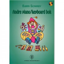 Andre Piano/Keyboard bok (Bjørn Schandy)