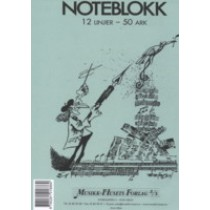 Noteblokk 12 linjers