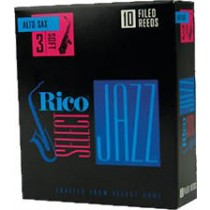 Rico Select Jazz Filed Alt Sax 3M