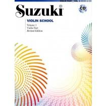 Suzuki Violin School Volum 1 - Violin part - Revidert utgave m/cd