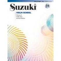 Suzuki Violin School Volum 4 - Violin part - Revidert utgave m/cd