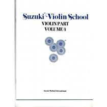 Suzuki Violin School Volum 4 - Violin part