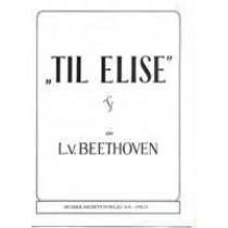 Til Elise - Piano Solo singelnote