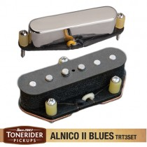 Tonerider Alnico II Blues Left Handed Set - Nickel Cover