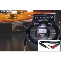 Klotz Titanium Instrumentkabel 6m vinkeljack SilentPlug