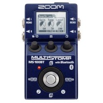 Zoom MS-100BT multistomp for gitar m/bluetooth