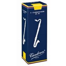 Vandoren CR123 - 5 stk NR.3 flis/rør til bassklarinett Bb
