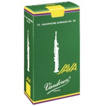 Vandoren SR3035 - 10 stk NR.3,5 JAVA flis/rør til sopransax Bb