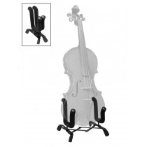 Boston VS-400 violin stand, collapsible, black