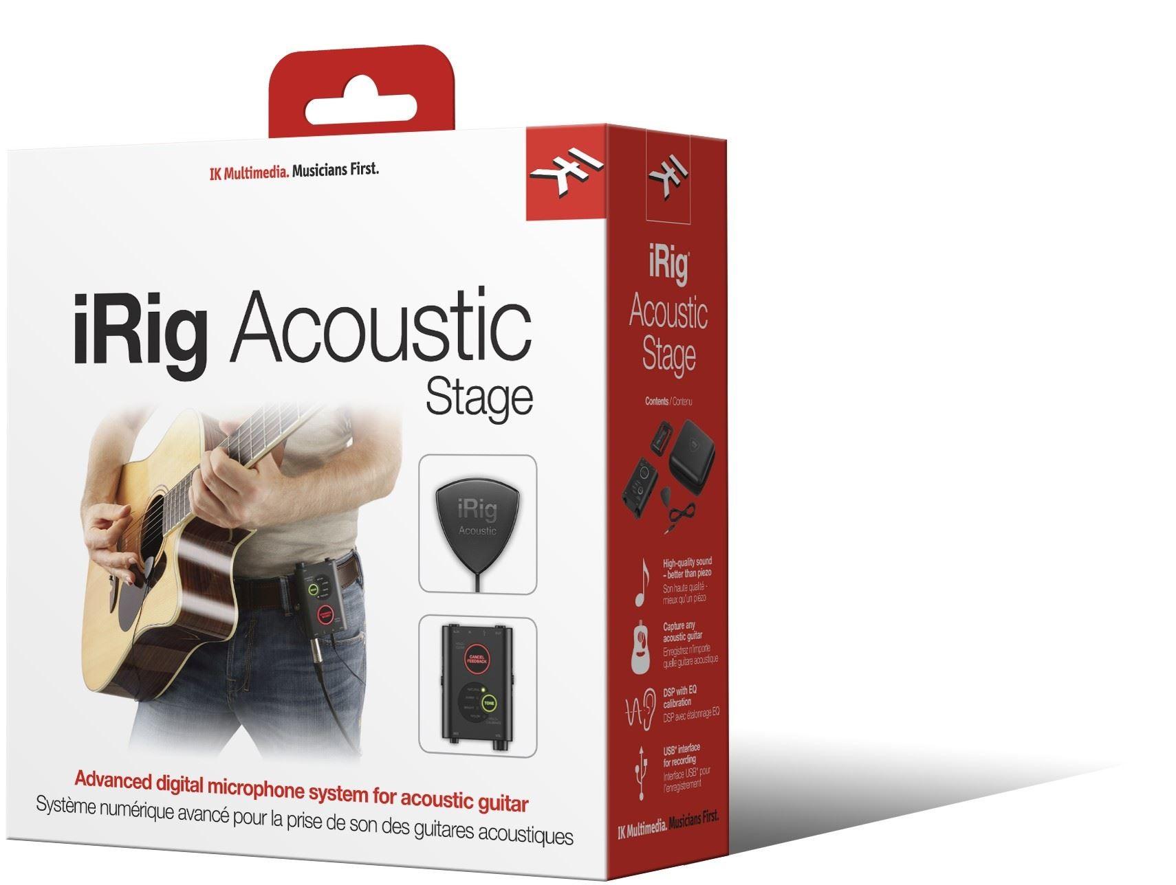 IK Multimedia iRig Acoustic Stage Studio
