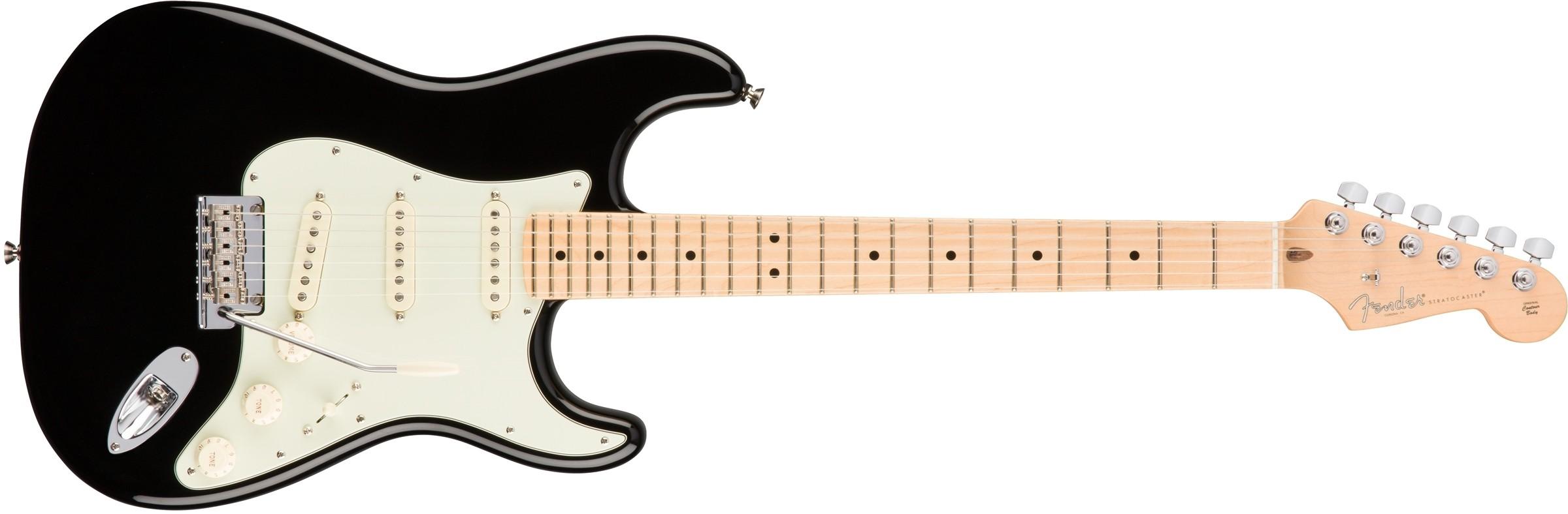 Fender American Professional Stratocaster - Black - Maple neck