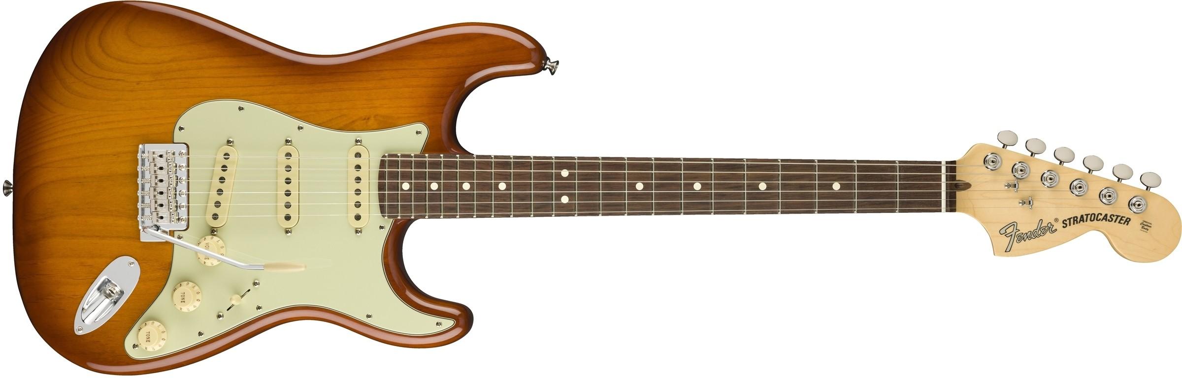 Fender American Performer Stratocaster - Honey Burst - Rosewood