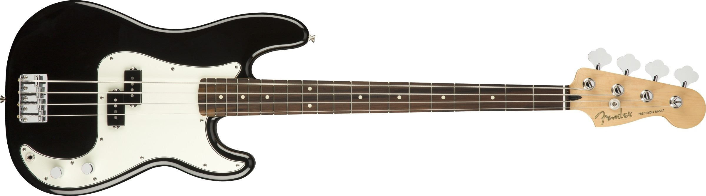 Fender Player Precision Bass - Black - Pau Ferro