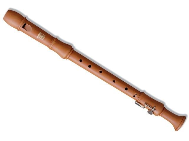 Hohner B9624-2 Blokkfløyte C-Ten.m/klaff, Maple3-delt Baroque