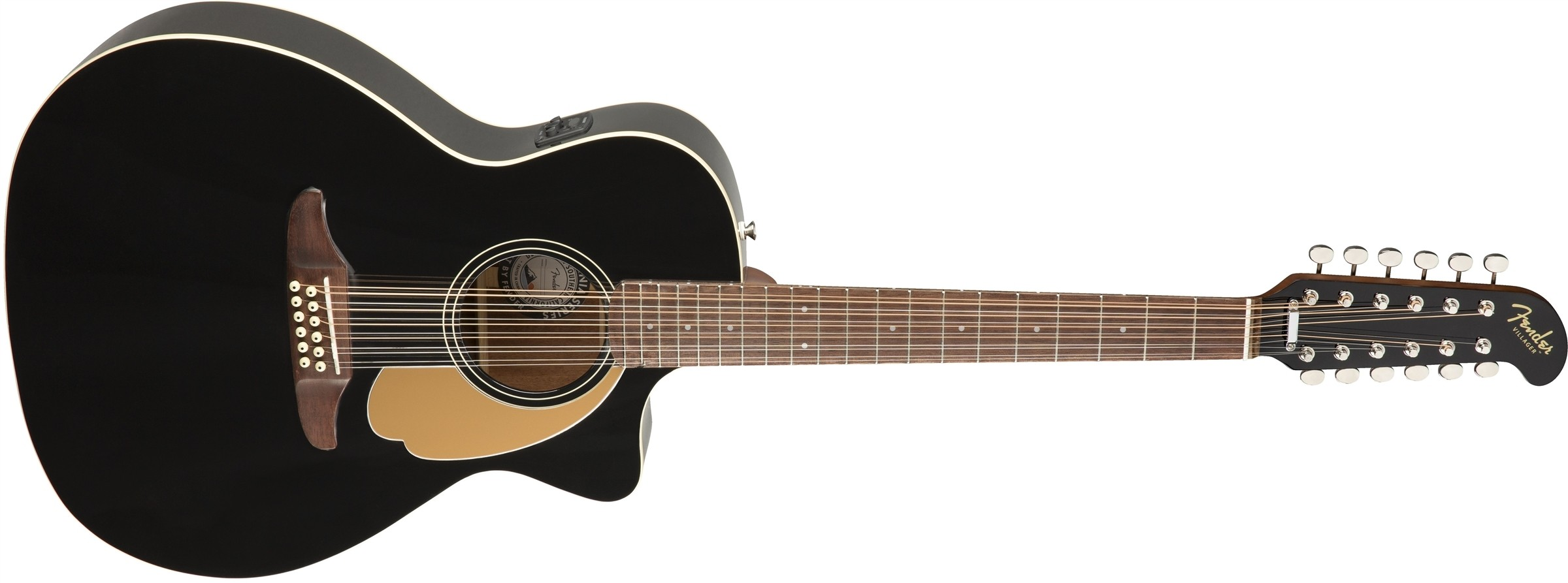 Fender Villager 12-String - 12-strengs akustisk gitar med bag