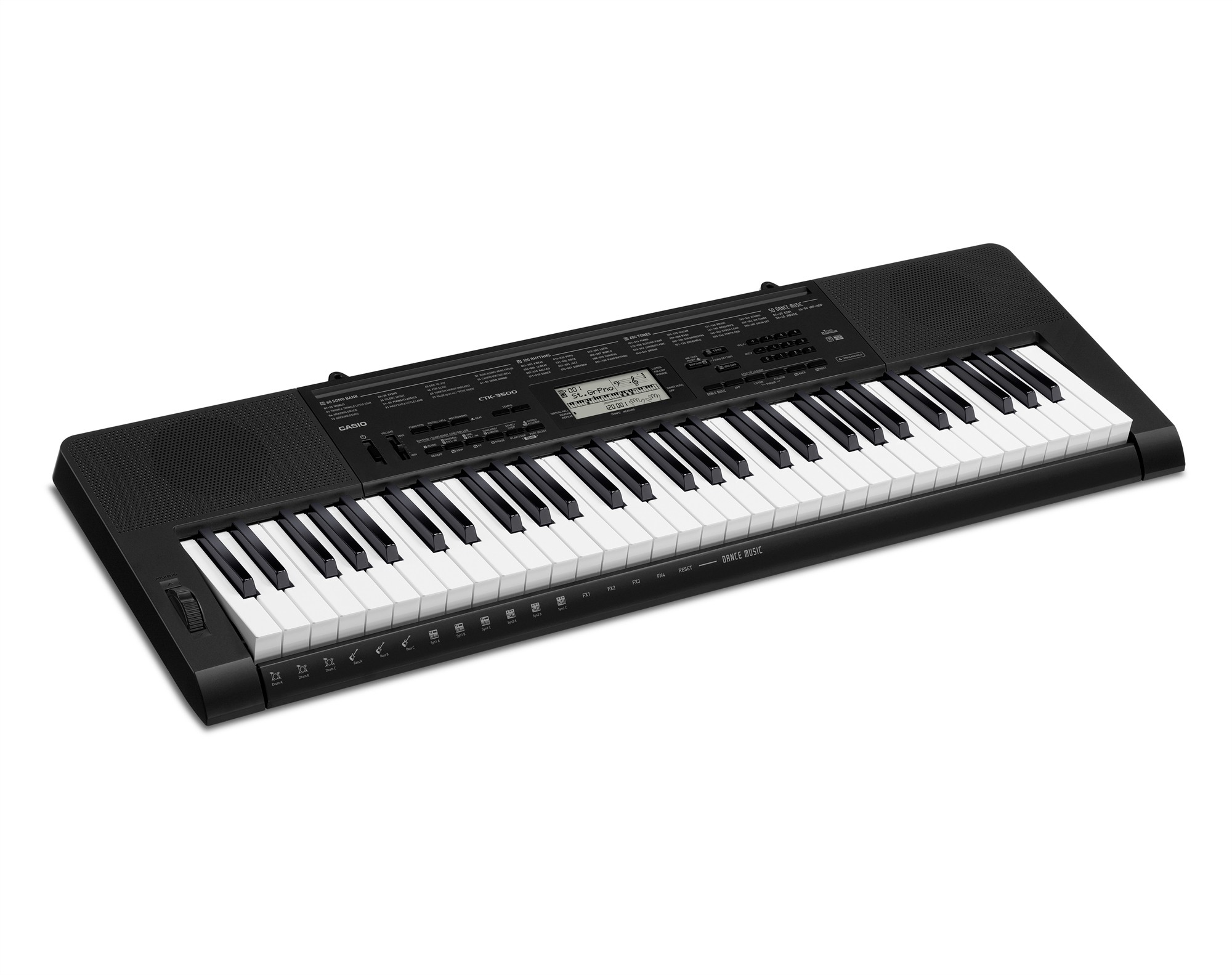 Casio CTK-3500 - 61-tangenters keyboard m/gratis hodetelefoner