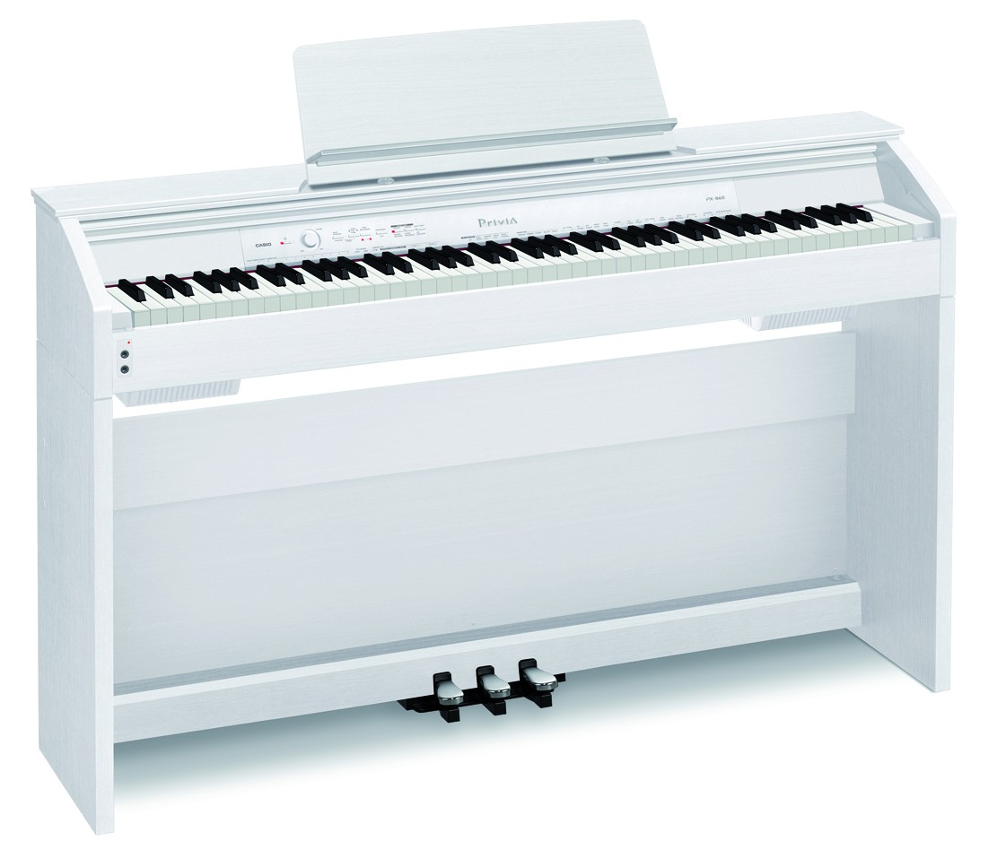 Casio PX-860WE komplett digitalpiano med understell