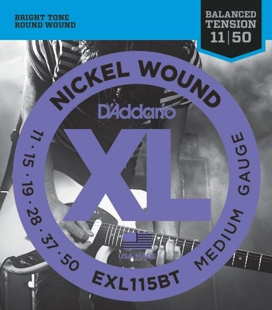 D'Addario EXL115BT - Balanced Tension El-gitarstrenger