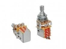 "Alpha ALPP250-A50  push-pull 250K audio potentiometer. standard length bushing .375"". 3/8"" diameter. made in Taiwan"