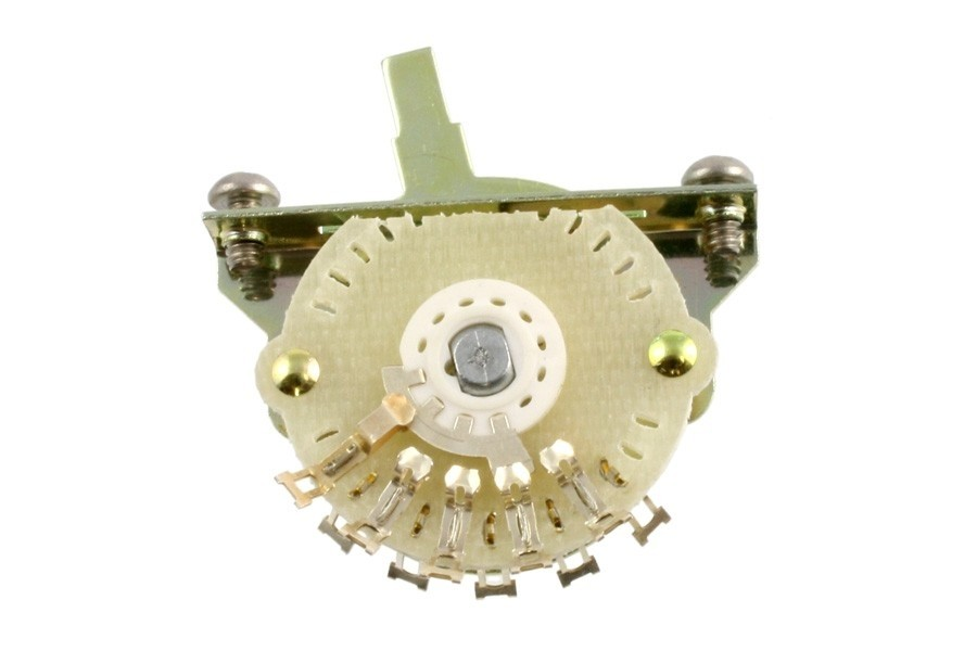 ALLPARTS EP-4374-000 4-Way Oak Grigsby Switch for Telecaster
