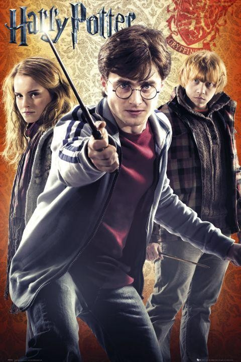 "Filmplakat - Harry Potter 7 ""Trio"""