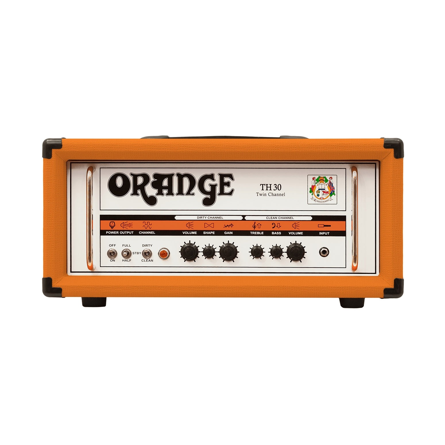 Orange TH30H | 30 Watt Twin Channel Guitar Amp Head, 30 Watts Class A