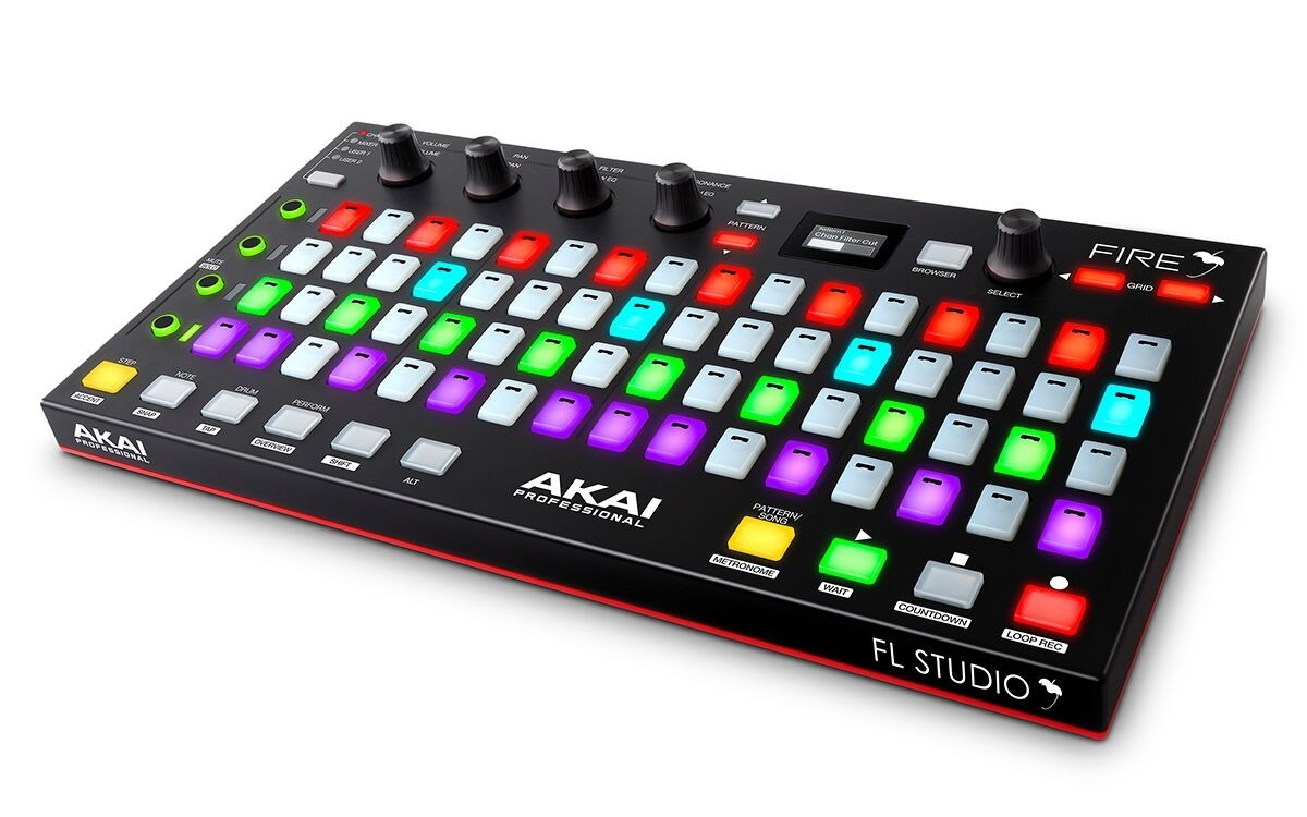 Akai Fire - Hardware controller for FL Studio