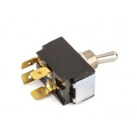 Fender Amplifier DPST On/Off Toggle Switch (with Mounting Hardware)