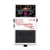 BOSS TU-3 - Gitar/bass stemmemaskin i pedalutførelse