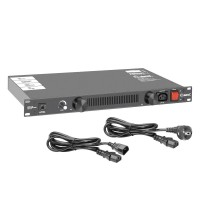 Adam Hall AHPCL10 Power Conditioner with rack lighting