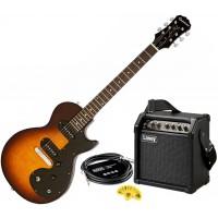 Epiphone Les Paul SL el.gitarpakke med Laney LR5 forsterker - Vintage Sunburst