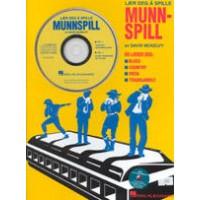 Lær deg å spille munnspill - Bok + CD -David McKelvy-diatonisk