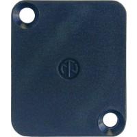 Neutrik blindplate D-plugg