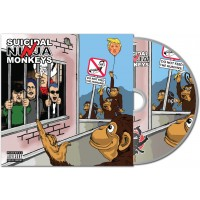 Suicidal Ninja Monkeys - Do Not Feed the Humans - CD album