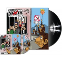 Suicidal Ninja Monkeys - Do Not Feed the Humans - LP vinyl + CD combo