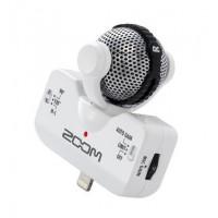 Zoom IQ-5 hvit mikrofon for iPhone5
