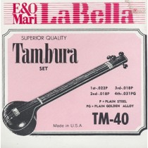 LaBella TM-40 Tambura String Set