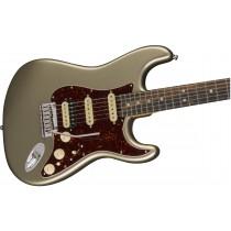 Fender American Elite Stratocaster HSS Shawbucker - Champagne - Ebony Fingerboard