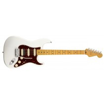 Fender American Ultra Stratocaster HSS - Arctic Pearl - Maple