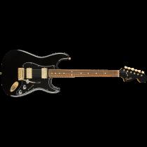 Fender Limited Edition Mahogany Blacktop Stratocaster, Pau Ferro
