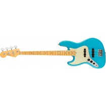 Fender American Professional II Jazz Bass Left-Hand, Maple Fingerboard, Miami Blue
