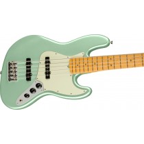 Fender American Professional II Jazz Bass V, Maple Fingerboard, Mystic Surf Green